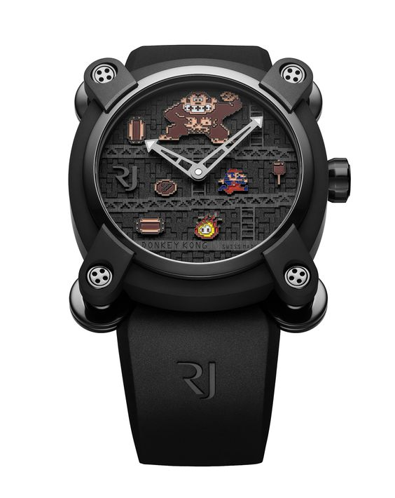 Romain Jerome Donkey Kong Stock Photo