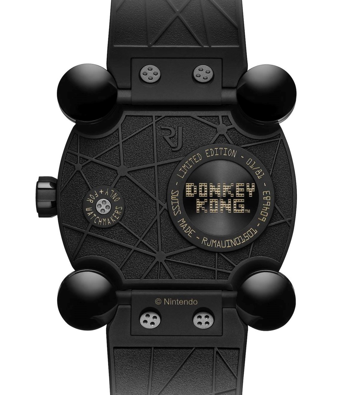 Romain Jerome Donkey Kong Case back