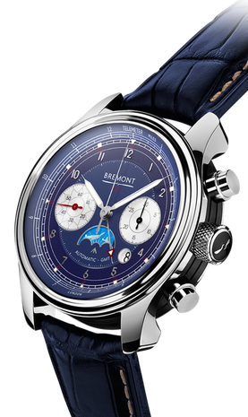 Bremont 1918 Limited Edition blue dial 1918/WG